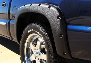 Prestige Rivet Style Fender Flare Set TEXTURED   Fits Chevrolet