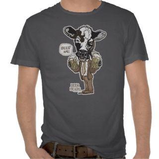 Beer Me Moo Cow by Mudge Studios Tees