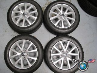10 13 VW Jetta Factory 16 Wheels Tires Rims Golf Rabbit 5x112 205 55