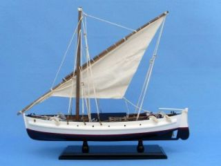 Second Wave 19 Model Fishing Boat SHIP Wood