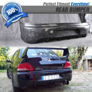 Fit for 03 07 Mitsubishi Lancer EVO 8 9 Mr JDM Style Rear Bumper