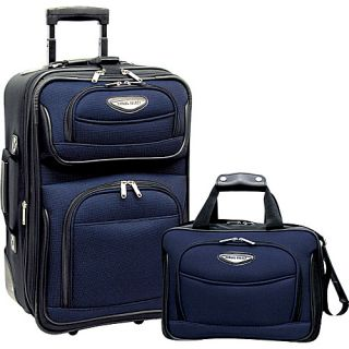 Travelers Choice Amsterdam 2pc Carry on Luggage Set