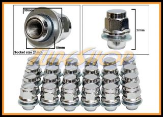 24 Toyota OE Stock Factory Wheels Rims Mag Lug Nuts 12x1 5 1 5 21 Hex