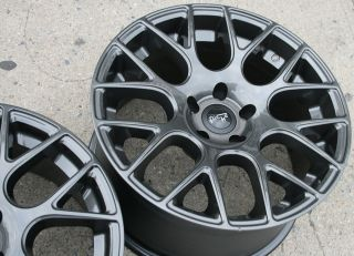 Niche Circuit M107 18 Gunmetal Rims Wheels CLS55 AMG 18 x 8 0 9 5 5H