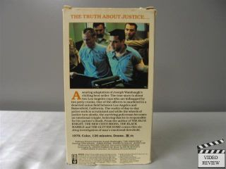 The Onion Field VHS John Savage James Woods Franklyn Seales Ronny Cox