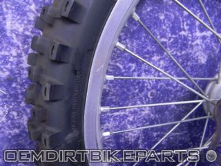 Excel Wheel Set Front Rear 19 Rim YZ125 YZ250 YZ250F 2000 2008