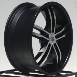 20 inch Wheels Rims Black New Chevy Camaro Cadillac cts 5x120 Honda