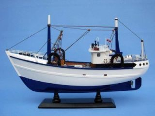 Calm Seas 19 Model Fishing Boat Replica Nautical Decor