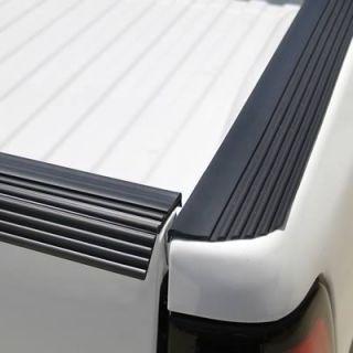 Bed Rail Cap Vinyl Black Ribbed 3.75 Width 264 Roll Length Ea 21 107