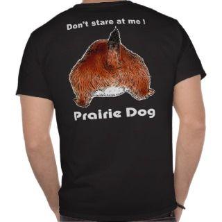 prairie dogs face (2) tee shirt