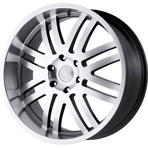 New 20x9 6x139 7 Black Rhino Zambia Wheel Rim