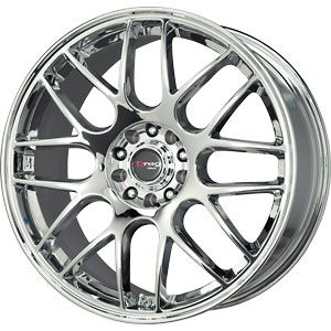 New 17x7 5 5x100 5x114 3 Drag Chrome Wheels Rims