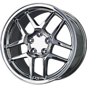 New 17x9 5 5x120 65 Replica Z06 Replica Chrome Wheels Rims
