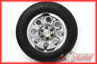 17 GMC Sierra Chevy Silverado Tahoe Wheels Tires 18 16