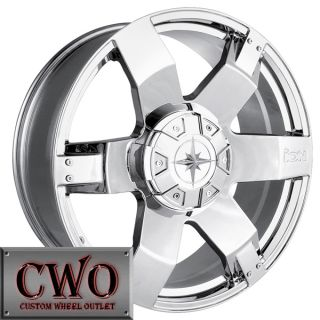 22 Chrome ion 185 Wheels Rims 6x135 6x139 7 6 Lug Navigator Escalade