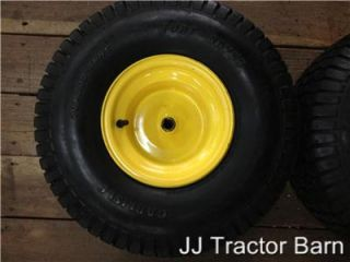 John Deere L100,L108,L110,L111, Rear Rims,Carlisle Turf Saver Tires