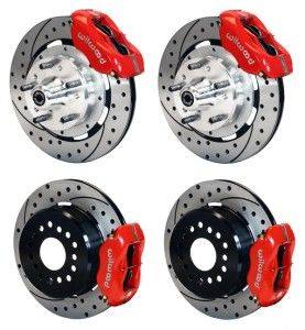 Front Rear Disc Brake Kit Wilwood 140 11072 Dr