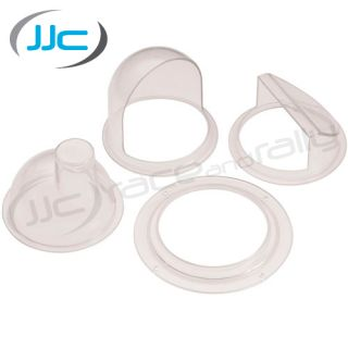 JJC Cockpit Air Vent Kit 2 x Scoops Perspex Window Kit