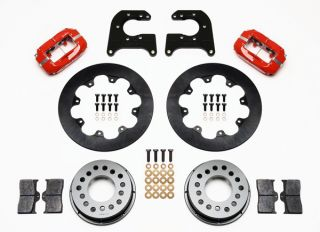 Wilwood Drag Disc Brake Kit Rear Mopar Dana 60 2 36 11 44 Rotors Red