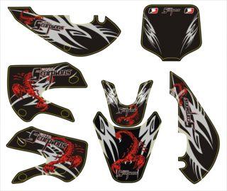 Scorpion Decal Graphic Kawasaki KLX110 DZR110 KX65 RM65