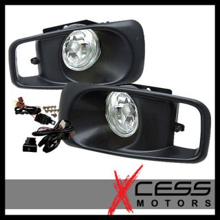 1999 2000 Honda Civic EK JDM Driving Fog Lights w Switch Clear Lens RH