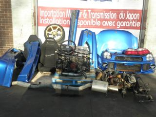 JDM WRX STI EJ20 Tommy Kaira Edition M20B 2 2 STI Version 7 Engine WRX