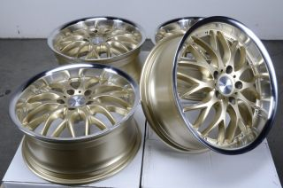 Rims Gold Mercedes Benz S430 S320 E500 GTI Rabbit Passat Jetta Wheels