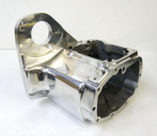 Polished Ultima 5 6 Speed Transmission Case Harley Softail 90 99 w