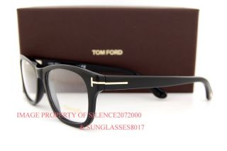 Brand New Tom Ford Eyeglasses Frames 5147 001 Black for Men Sz 52