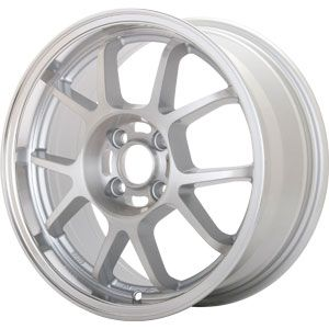 New 16x7 5x114 3 Konig Foil Silver Wheel Rim