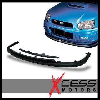 04 05 Subaru Impreza WRX STI Style Front Bumper Lip PU
