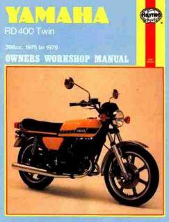 Yamaha RD400 Twin Repair Shop Service Manual 1975 1976 1977 1978 1979
