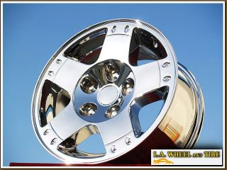 New 17 Dodge RAM 1500 Durango Factory Chrome Wheels Rims 2164
