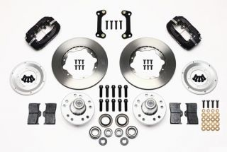 Wilwood Disc Brake Kit Front 82 92 Pontiac Firebird 11 Rotors Black