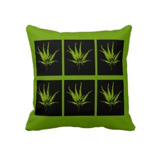 Verdi Japanese Maple leaves pillow