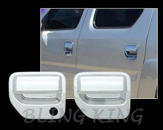 Honda Ridgeline Chrome Mirror Handles Tailgate Package