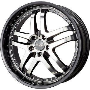 New 18X9.5 5 114.3 Dante Gloss Black Machined Face Wheels/Rims