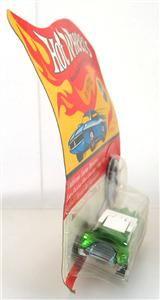 Swingin Wing Light Green 1969 Redline Hot Wheels w Button