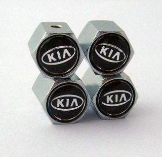 4 Pcs Anti Theft Tire Air Valve Stems Caps for Kia