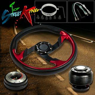 Bolt Racing Steering Wheel Hub Quick Release Civic Del Sol Integra