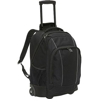 Soren Travel Gear Departure Wheeled Backpack Black