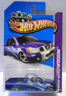 Hot Wheels 2013 164 HW Showroom Nissan Titan Lowrider Mint on Card