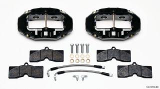 Wilwood Caliper Pad Line Kit Rear 65 82 Corvette C2 C3 Black Chevy New