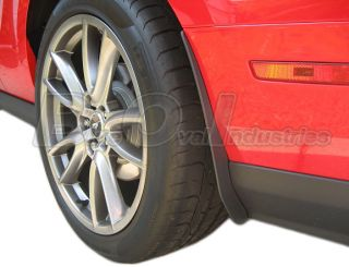 10 12 Mustang Shelby GT500 Rear Mud Flaps Splash Guards