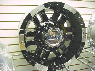 20x10 Moto 951 Ford Chevy Dodge Wheels 8 Lug 6 Lug F150 Silverado