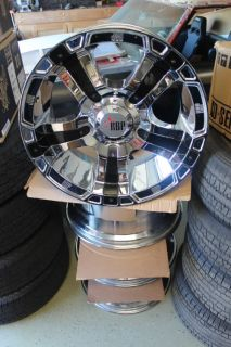 93R Chrome Wheels   5 x 4.5   Rolling Big Power Rims Ford Jeep Chevy