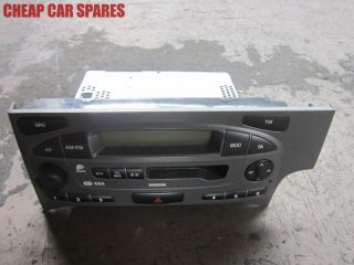 Nissan Primera P11 95 02 radio cassette player stereo head unit   NO