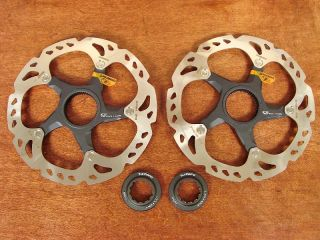 Shimano XTR SM RT98 160mm Centerlock Disc Brake Rotors New
