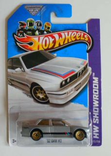 Hot Wheels 2013 172 HW Showroom 92 BMW M3 Grey w GWSPs Mint on Card