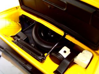 Lotus Esprit V8 Yellow Diecast Car Model 1 18 by Autoart 75313